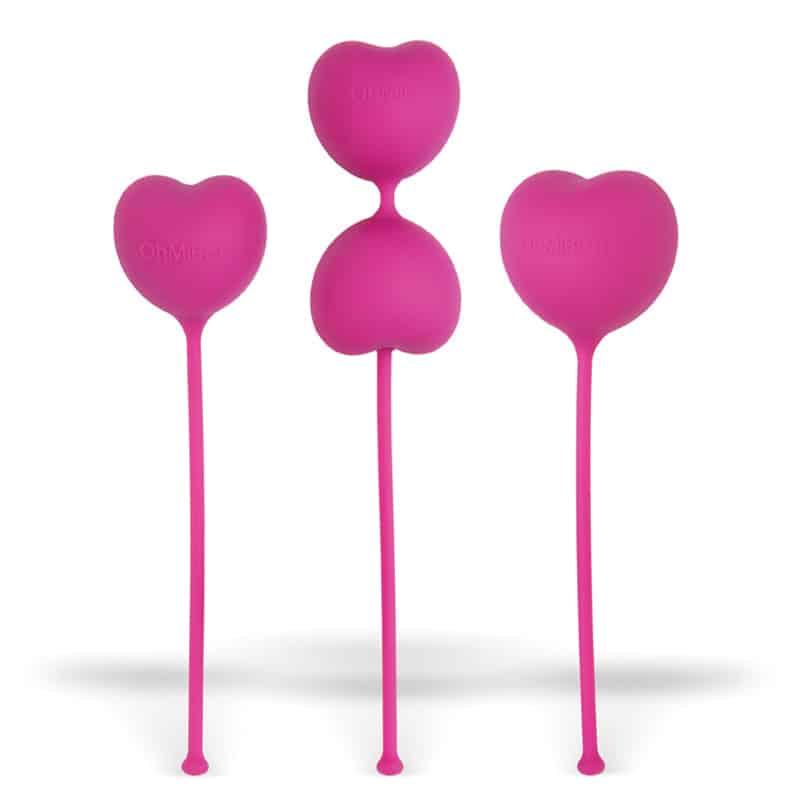 ohmibod lovelife flex kegels zestaw 3 progresywnych kulek gejszy 1