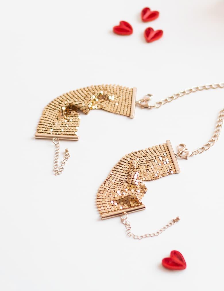 bijoux indiscrets desir metallique kajdanki z lancuszkow 8