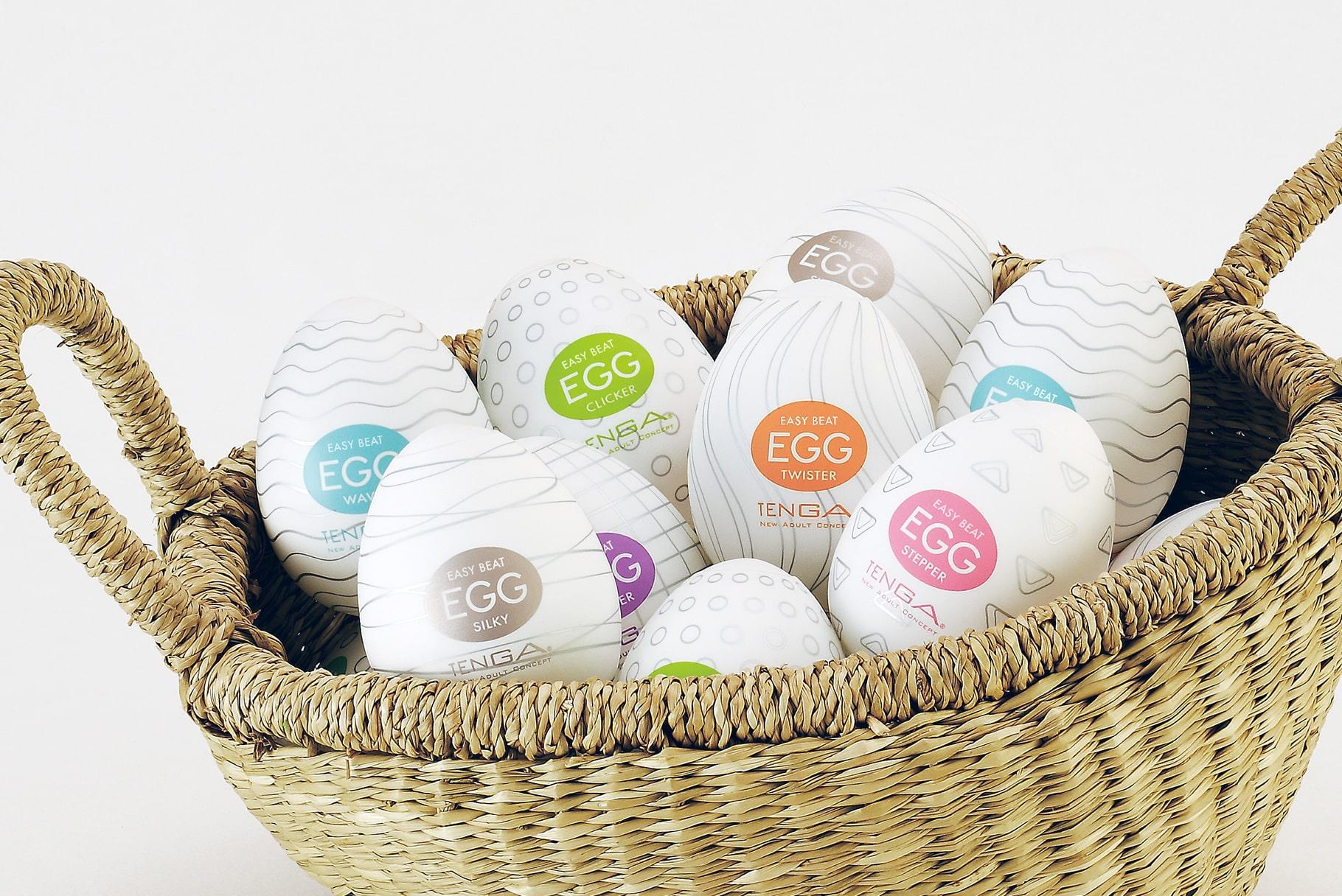 Tenga Egg zabawne masturbatory w kształcie jajek | Recenzja