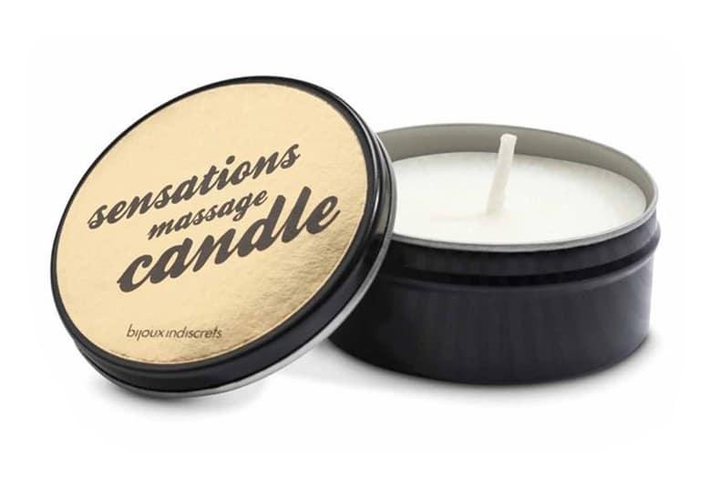świeca do masażu Sensations