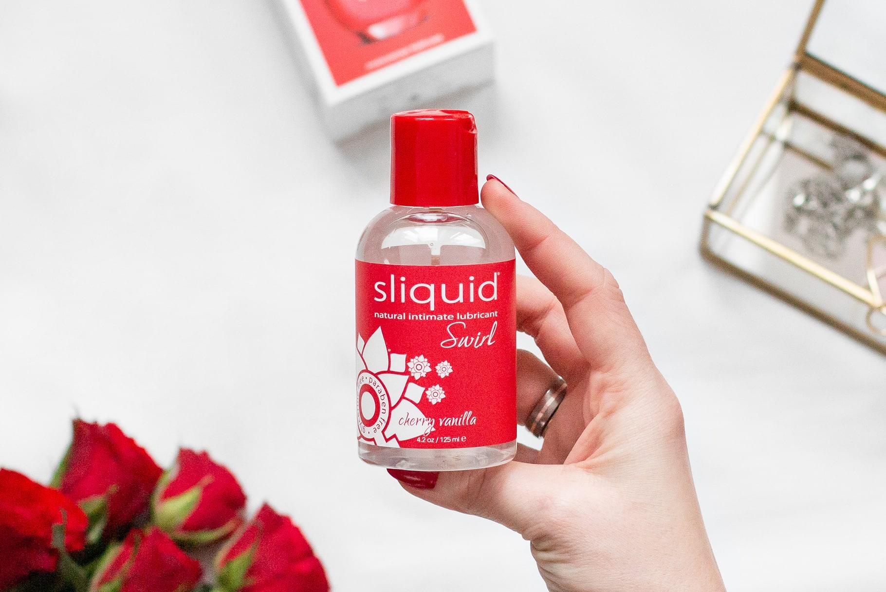 Sliquid Swirl lubrykant na bazie wody- bezpieczne, wegańskie i smakowite nawilżenie   Recenzja