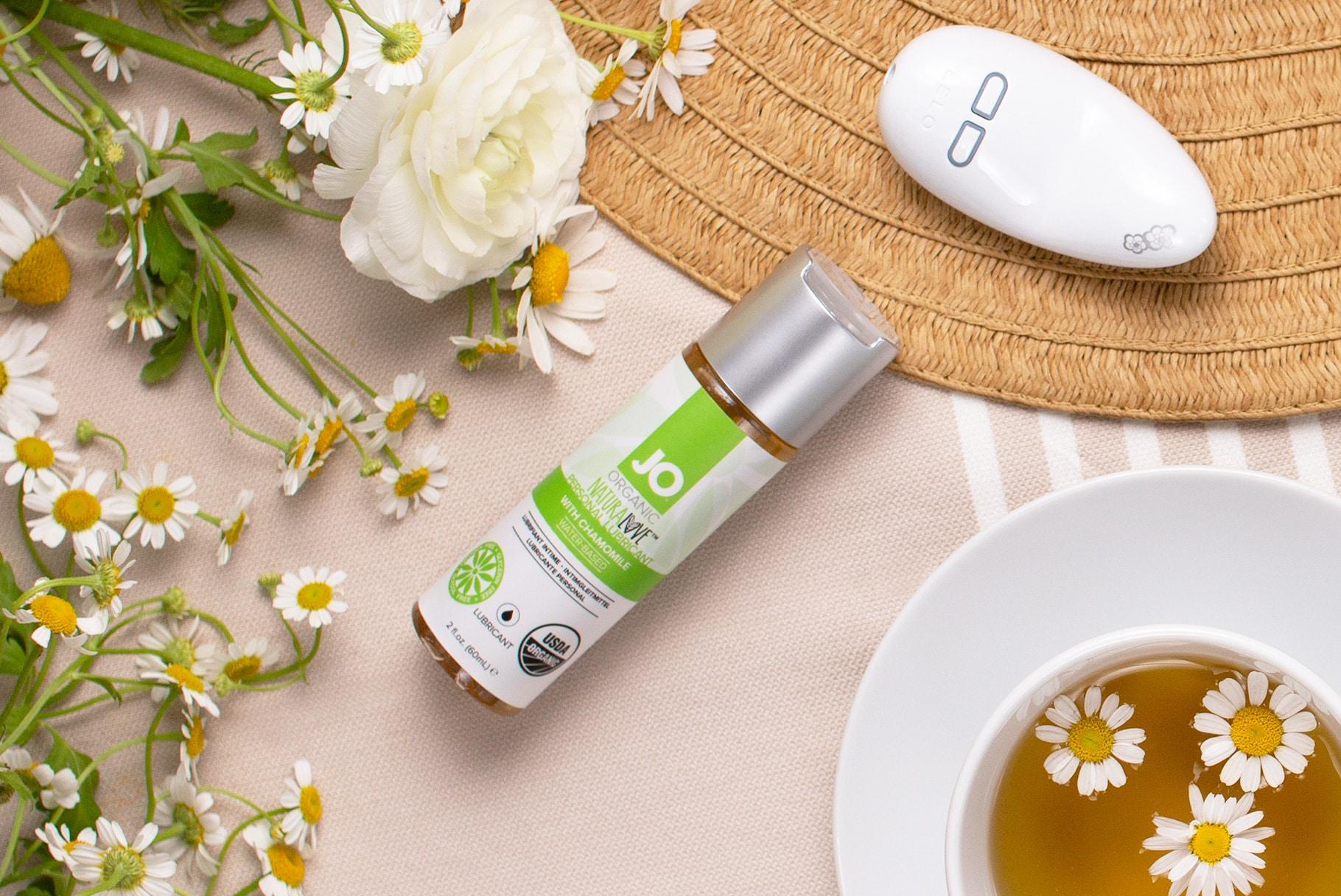 System JO Natural Love organiczny lubrykant z rumiankiem | Recenzja