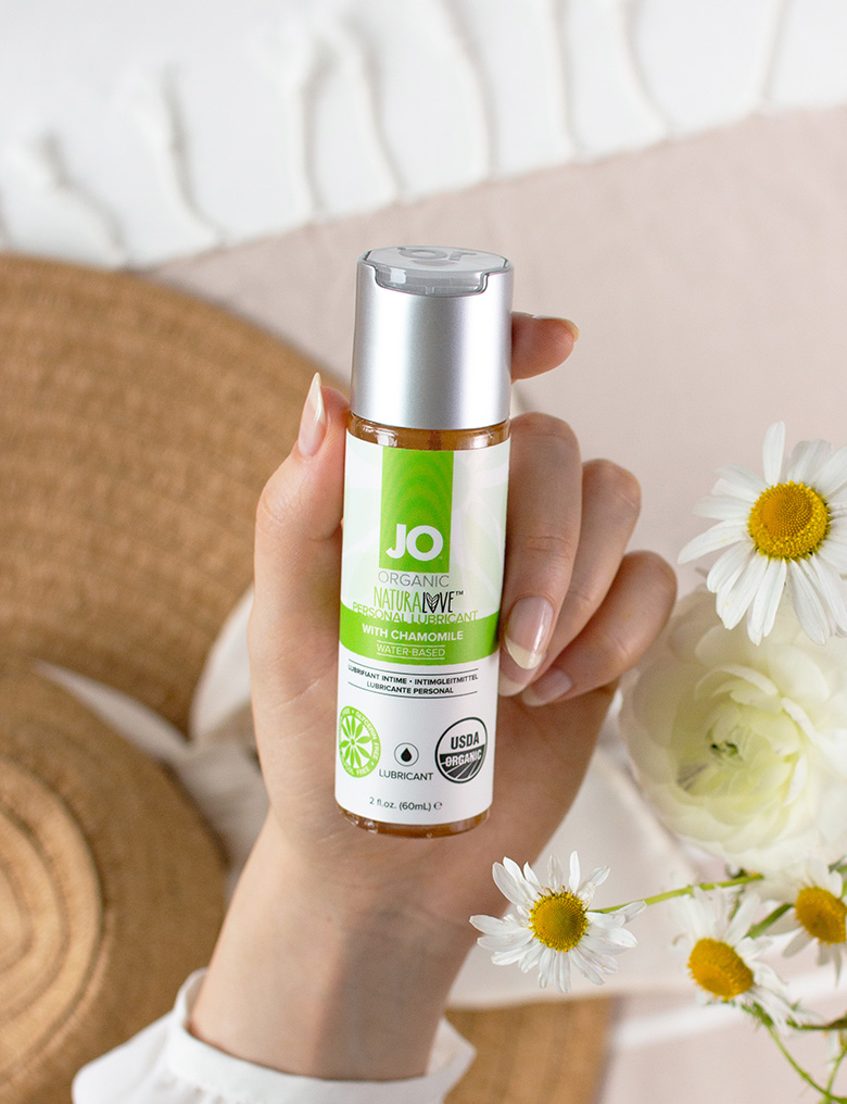 system jo natural love lubrykant z rumiankiem 3