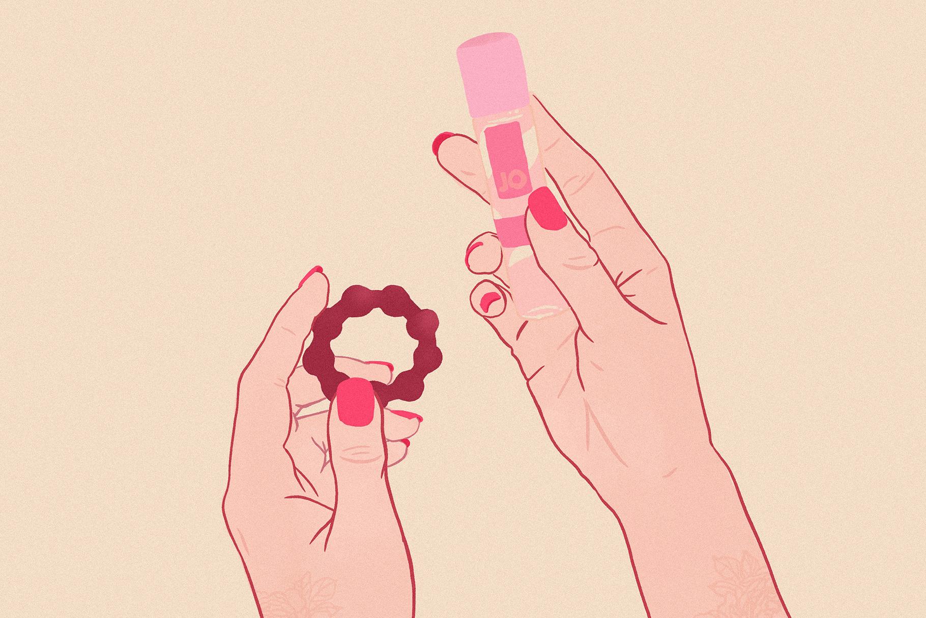 Jak używać i jak dobrać odpowiedni pierścień erekcyjny? | Poradnik